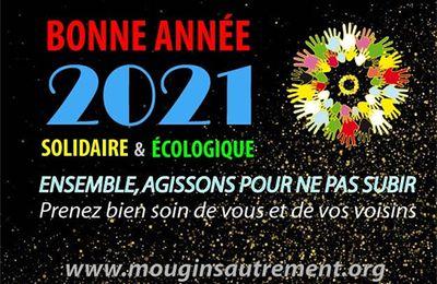 Bonne année 2021 solidaire et écologique
