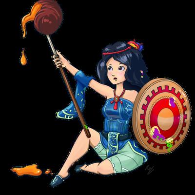 Paint warrior ID