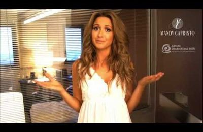 Spendenaktion mit Mandy Grace Capristo