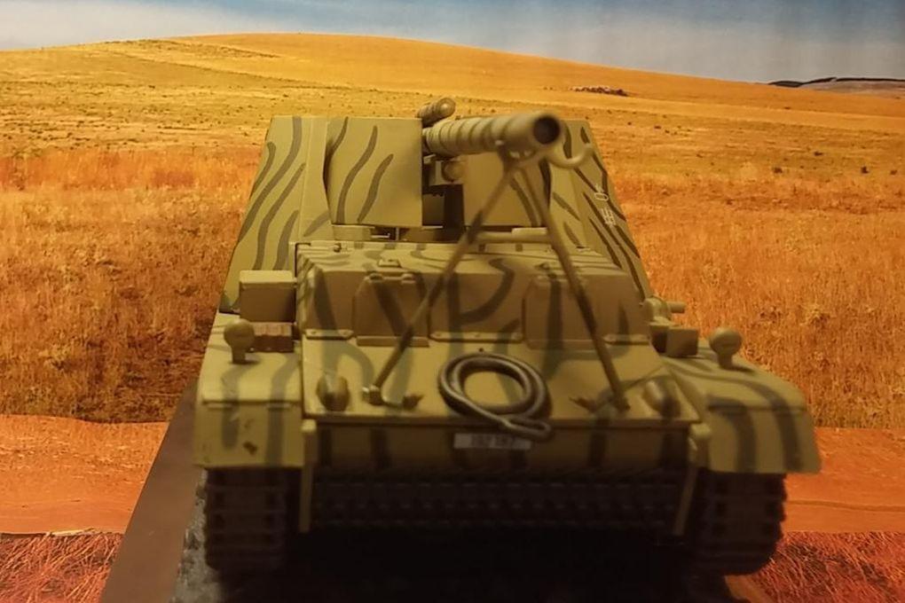 Canon automoteur Hummel au 1/43 (Altaya/Ixo)