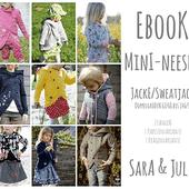 Sweatjacke Mantel Ebook Mini NEESHA Größe 62 - 152