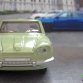 FASCICULE N°54 PANHARD 24 COACH ABSINTHE DINKY TOYS REEDITIONS ATLAS - car-collector
