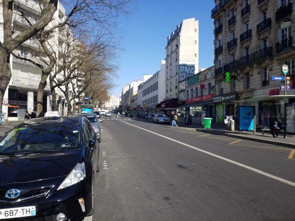 Rue de Belleville, Rue Julien Lacroix (2), Rue des Maronites, Paris 20°, 25/03/20