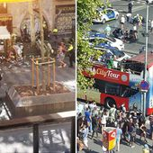 Barcelona truck crash 'sees several people injured along iconic Ramblas shopping centre'