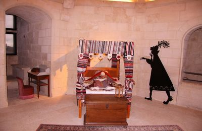 Chateau de Falaise : les chambres