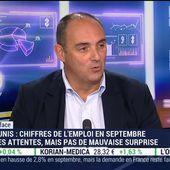 Olivier Delamarche: Ce qui se passe aux U.S.A est abbérant car dans le calcul de la consommation, on a l'Obamacare