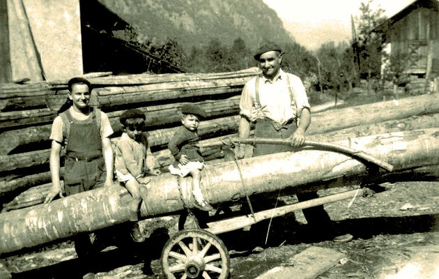 Métiers d'antan : Le moulin et la scie