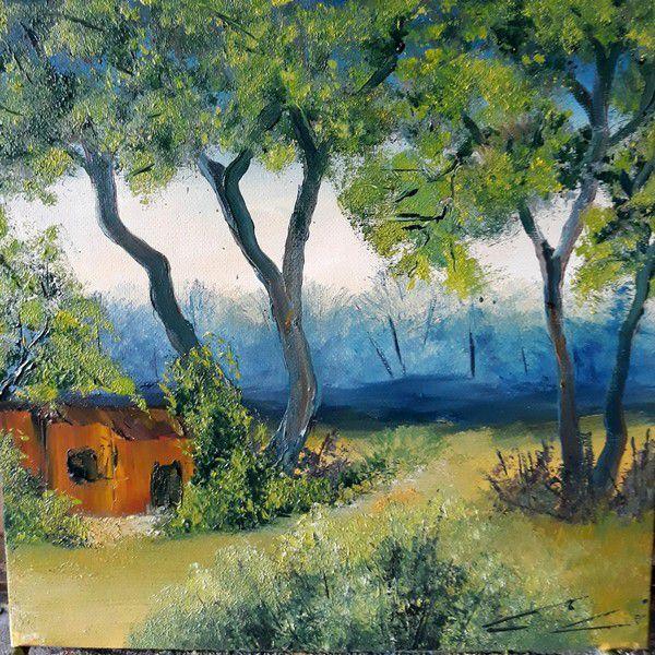 Nouvelle et jolie peinture de Guy Clicheroux.