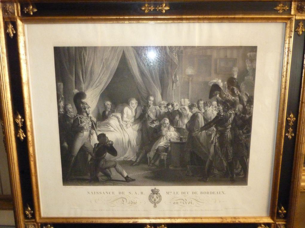 sélection de souvenirs des derniers Bourbons et de l'Empire