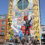 608) Donegall Street Place, Belfast Centre - muralsirlandedunord