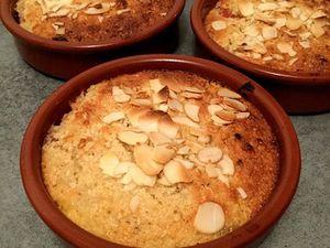 Moelleux pomélos et clémentines aux amandes et flocons d'avoine