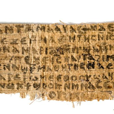 The (Pseudo) Gospel of Jesus's Wife