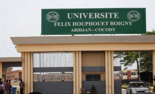 Imágenes del Campus de la Universidad Félix Houphouët-Boigny de Abidjan.- El Muni.