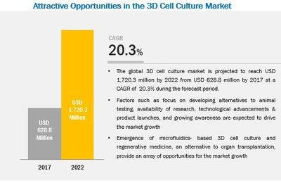 3D Cell Culture – An Emerging Market with Attractive Growth Opportunities