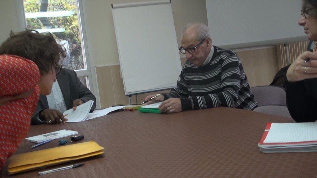 Formation avec Oumar comme intervenant dans les bâtiments de ISM sur le règlement UE 604 du 26/6/2013 (Dublin III) et le décret du 16 août 2013 relatif à la procédure applicable devant la Cour nationale du droit d'asile.