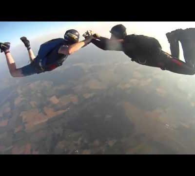 Lostmygopro en parachute