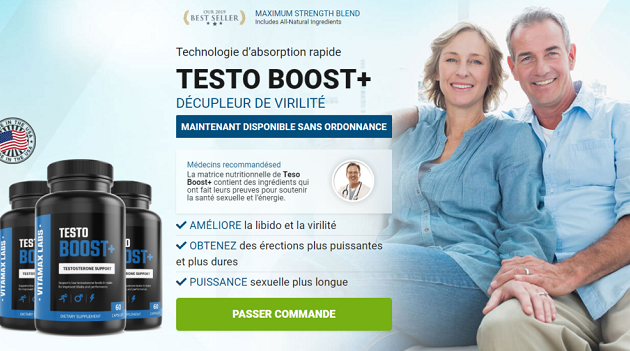 Testo Boost+ - Supplement For Boost Libido Energy