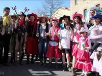 CÉRET ( Carnaval 2014, 1ère Cavalcade)