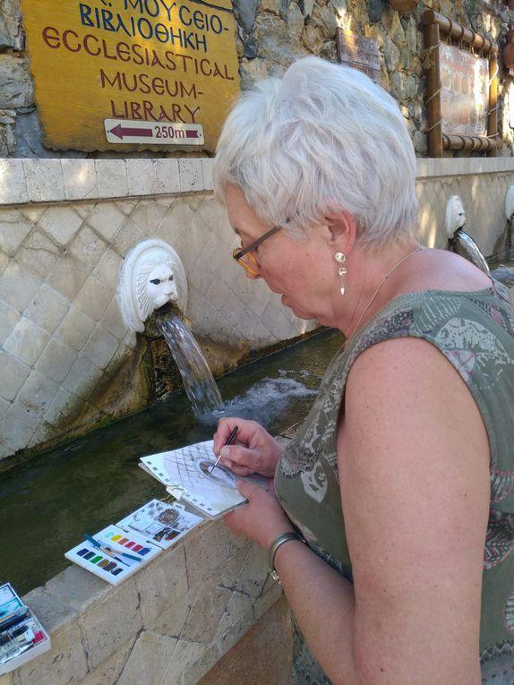 Carnet de voyage en Crète des stagiaires - 2020