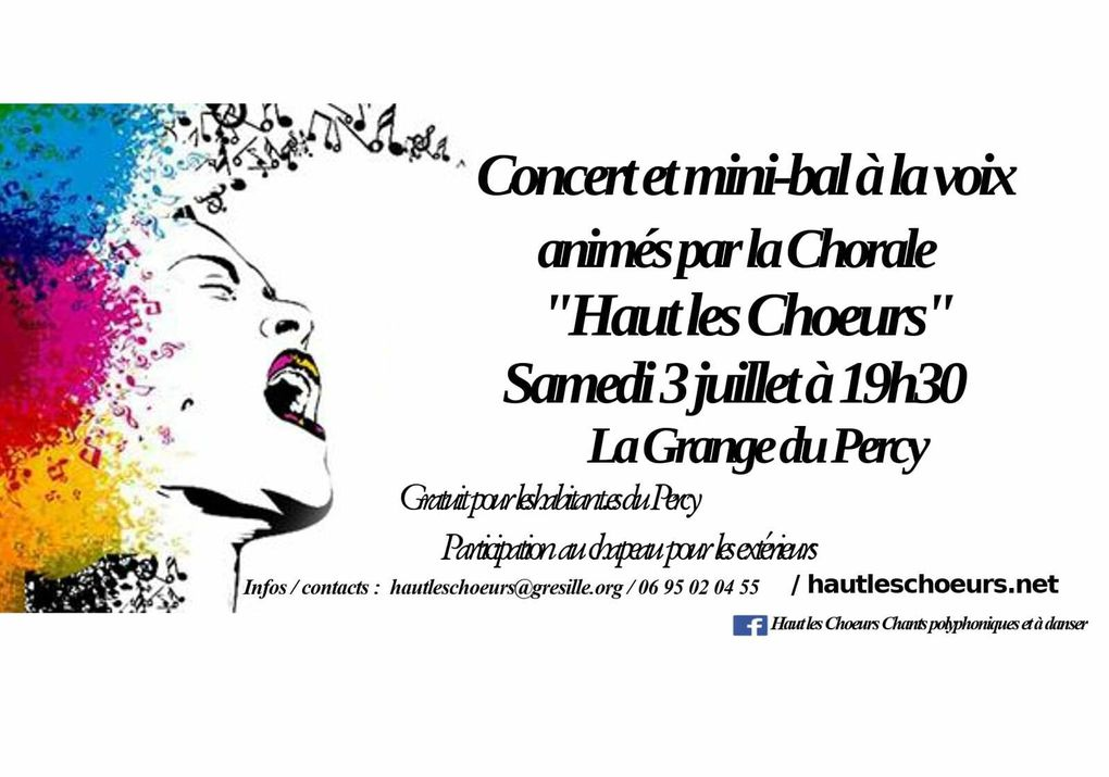 Du spectacle musical ce week-end au Percy