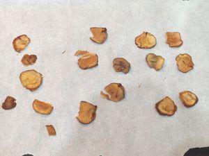 Chips de châtaignes