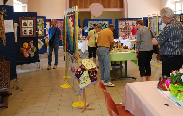 exposition à Arches / Quilt show in Arches
