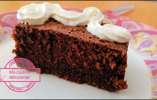 Gâteau au chocolat avec le cake factory