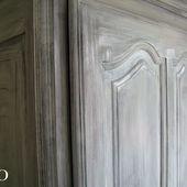 Application de la sous-couche sur les meubles - Chez Mamigoz