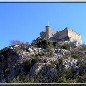 Château des évêques : FONTAINE DE VAUCLUSE - Château féodal et ruine médiévale