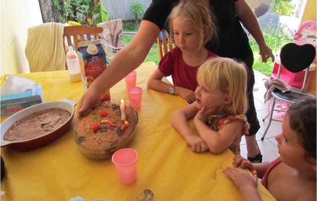 Margaux fête ses 3 ans - 21 décembre 2011