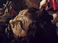 Giovanni Lanfranco - David avec la tête de Goliath - vers 1617 - huile sur toile, 130x152,5cm - Fondation Longhi