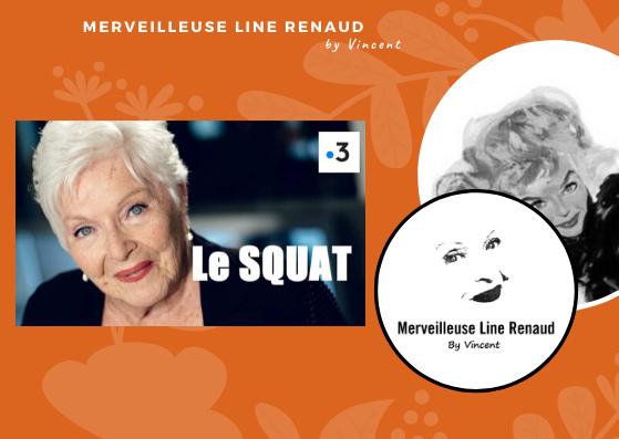 PRESSE WEB: Line Renaud sera Maryvonne Dupré dans Le Squat pour France 3