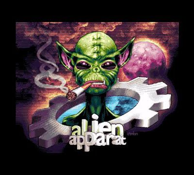 Amiga Demo - Alien Apparat (2017)