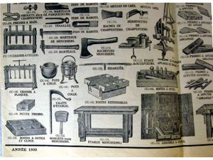 Articles catalogue BHV 1930
