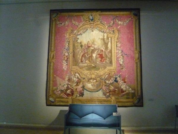Exposition Pierre Paulin 'Le désign au Pouvoir', Manufacture des Gobelins, 5 juin 2008.