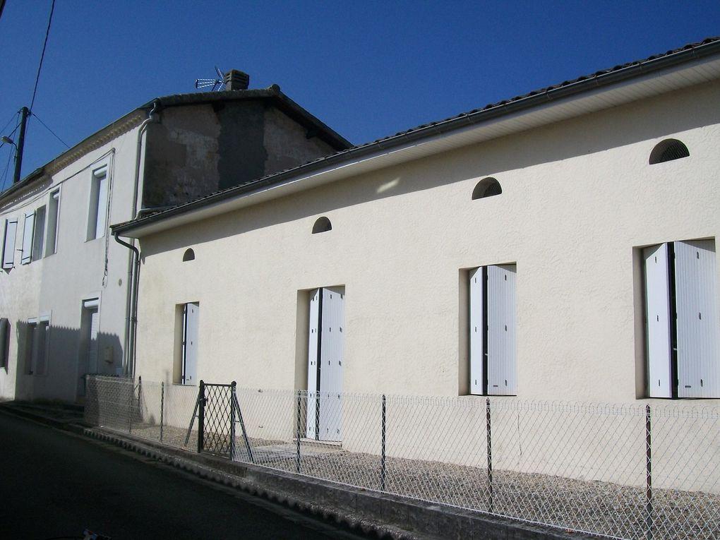 Les bâtiments actuels sur l'emplacement de l'ancienne maison noble de la salle Carpenteyre
