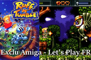 Exclu Amiga - Ruff 'n' Tumble - World 1: The Fantasy Forest