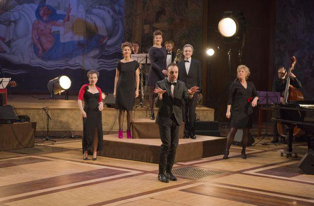 A voir en fin de soirée ce mardi : La Comédie Française chante Boris Vian.