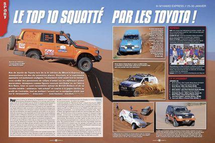 Univers Toy met à l'honneur les toys marocains sur la dernière édition de notre rallye raid au Maroc