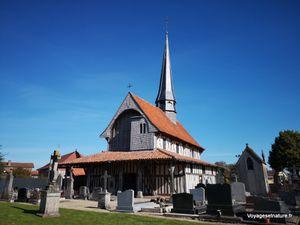 Eglises à pans de bois en Champagne