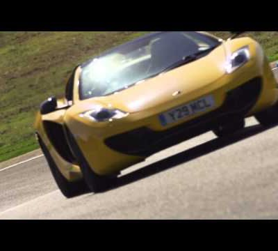 Drive video review of the MP4-12C Spider