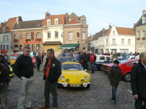 3ème RALLYE ARTOIS-LYS Dimanche 21 septembre 2008 158 km au road book Saint Venant - Fauquembergues - Azincourt - Saint Venant 67 équipages