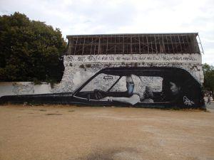 La Rochelle en van vw T4 california