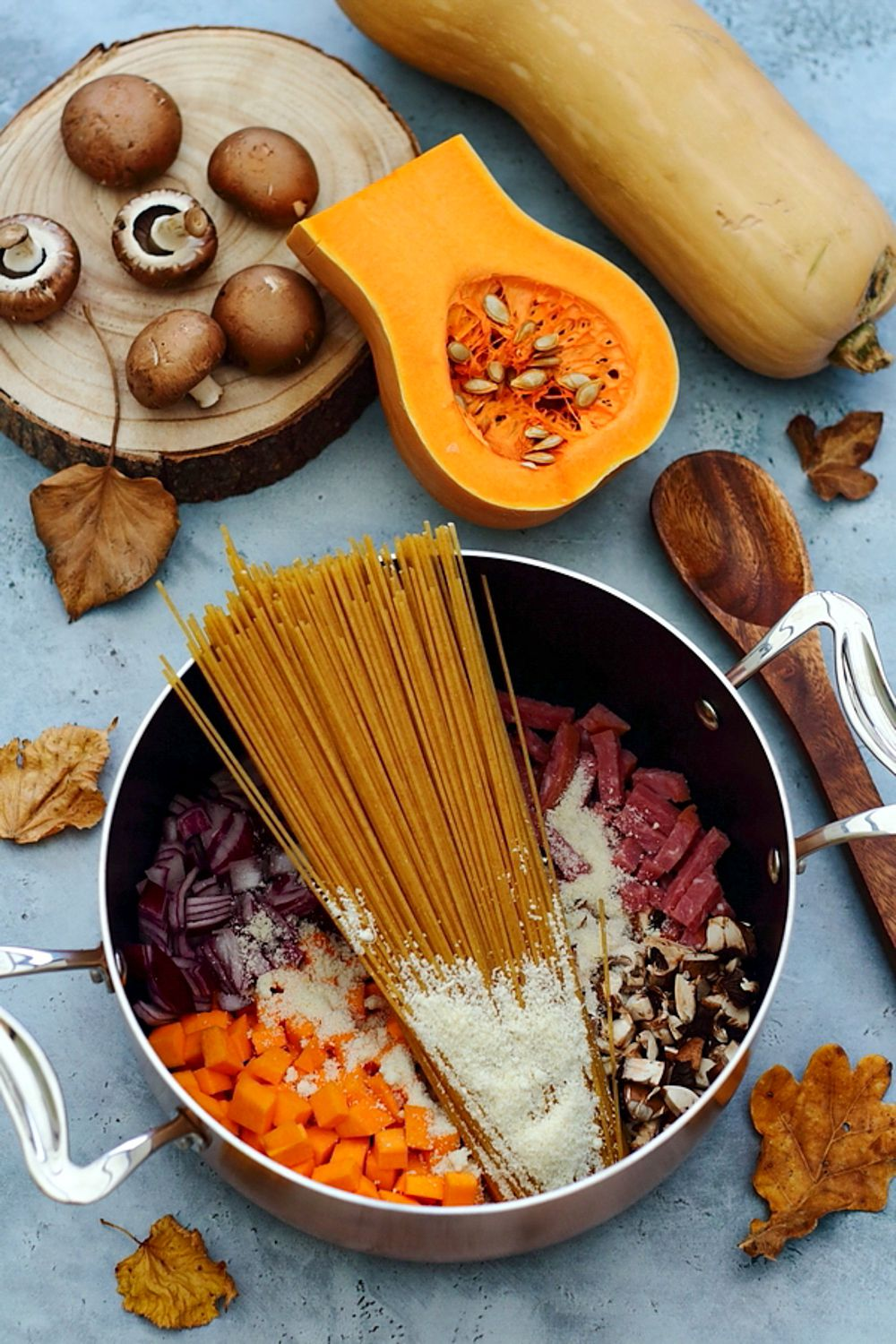 one pot pasta courge