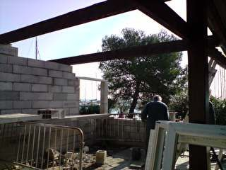 Album - Travaux d'extension du BBQ