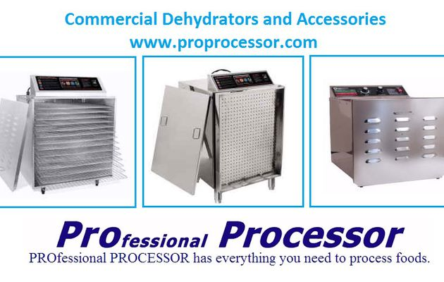 WHY ARE COMMERCIAL DEHYDRATORS THE BEST?