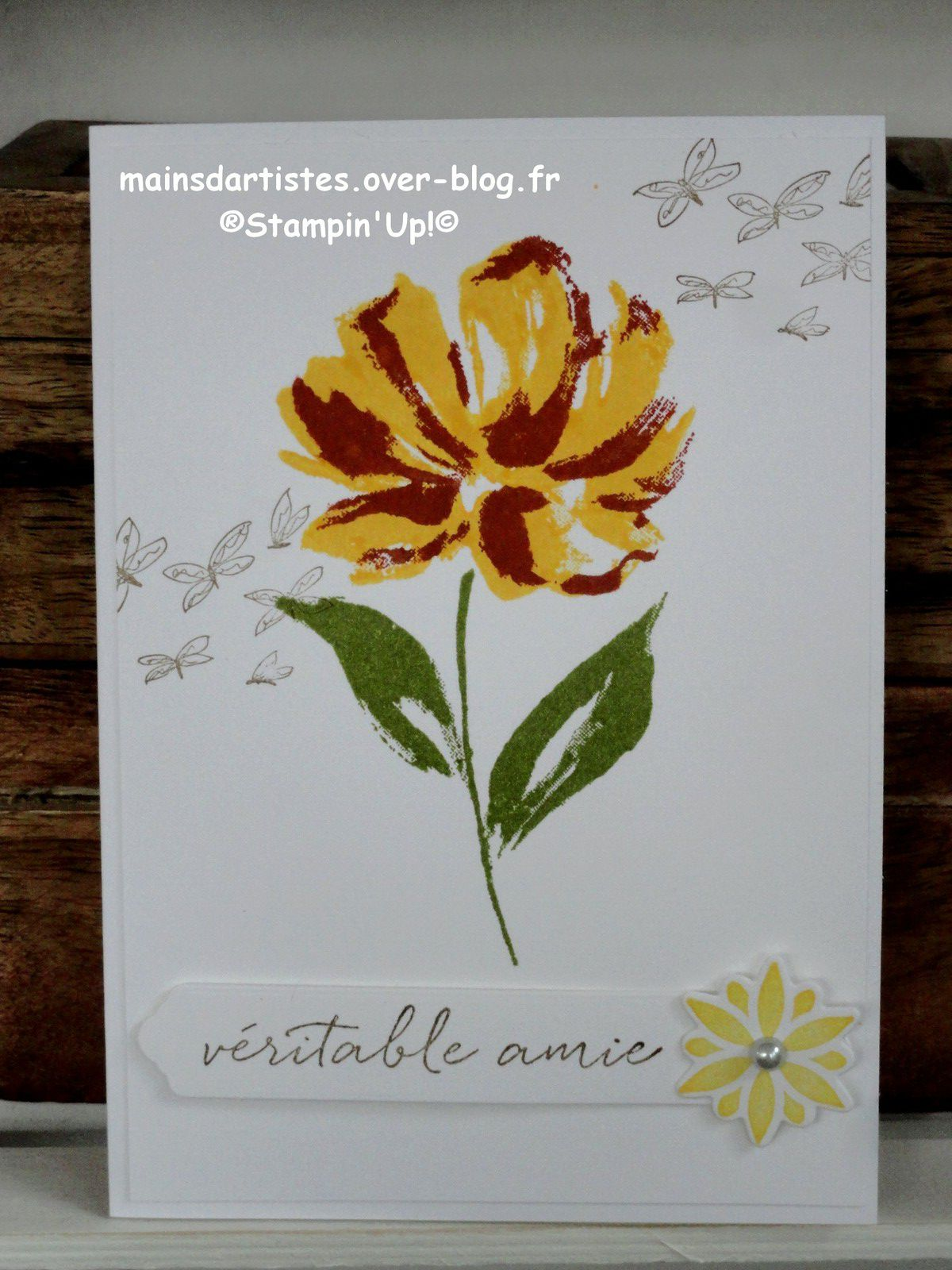 ART GALLERY,STAMPIN'UP!.