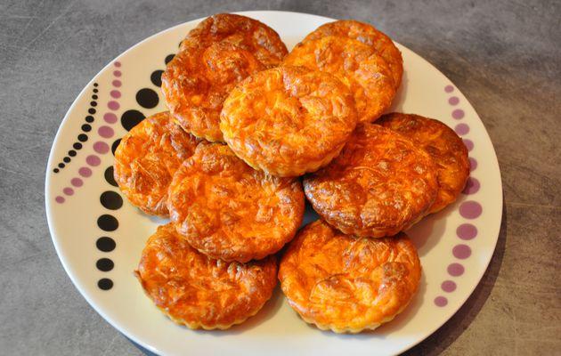 Cakes carottes - gruyère