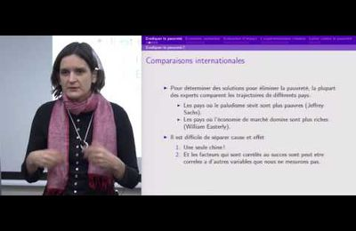 """Esther Duflo : """"Repenser la pauvreté"""" - Vidéo/France Culture"""