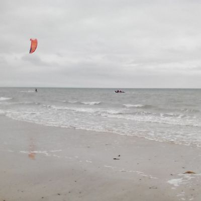 Kite Surfer en difficulté secteur de Créances